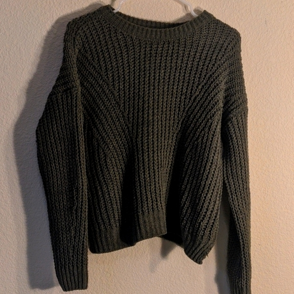 Sonoma Knitted Green Sweater